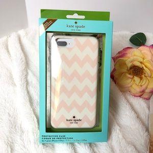 Kate Spade Chevron iPhone 8, 7, 6 Plus Case